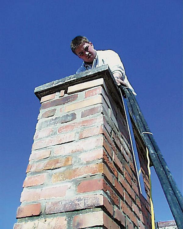 Renovujeme komín
