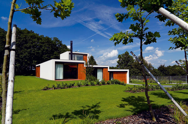 Terasovitý dom átriového typu