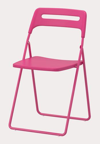 Skladacia stolička Nisse, dizajn Lisa Norinder.