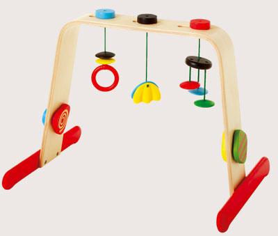 Detská telocvičňa Leka, dizajn Francis Cayouette