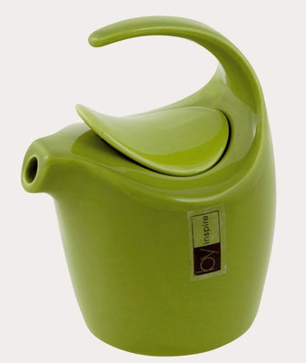 Kanvica na mlieko Jaro od firmy By Inspire zo zeleného porcelánu, Galan