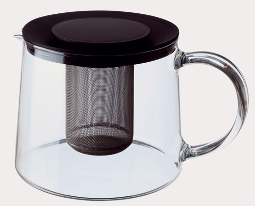 Kanvica na čaj Rikling zo skla so sitkom z nehrdzavejúcej ocele, Ikea