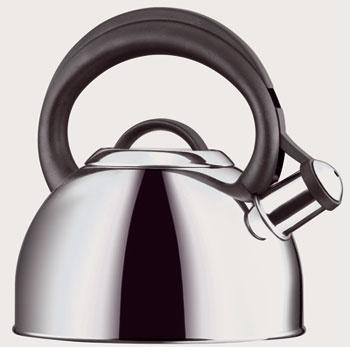Čajník Corona od firmy Tescoma vybavený píšťalkou