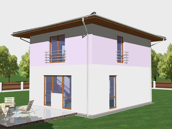 Dom, ktorý môže nárásť