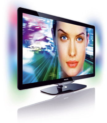 LCD televízor Philips LED TV 46PFL8605H s Full HD 3D Ready je vybavený aktívnou technológiou umožňujúcou pripojenie TV k aktualizačnému 3D balíku vrátane 3D kompatibilného IR vysielača, ktorý komunikuje s aktívnymi okuliarmi a prináša 3D zážitok. LED obraz so spotrebou energie o 40 % nižšou, ako majú bežné LCD TV, 200 Hz Clear LCD odozvou 1 ms, ostrosť pohybu. Perfect Natural Motion – plynulý pohyb, Net TV na populárne on-line služby. Odporúčaná cena 1 999 €.