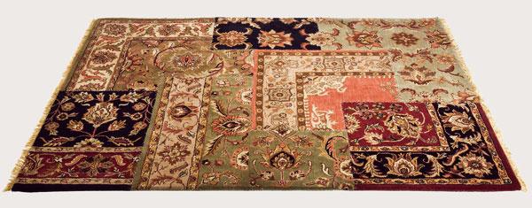 Vzorovaný koberec