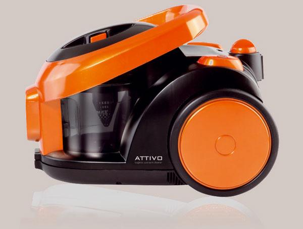 Bezvreckový vysávač ETA 1475 Attivo s funkciou Soft Start, ktorá nezaťažuje elektrickú sieť.