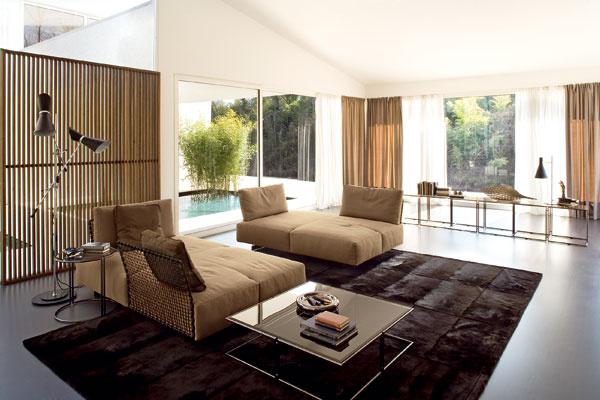 Základom obývacej izby je sedačka. (foto: Rivolta)