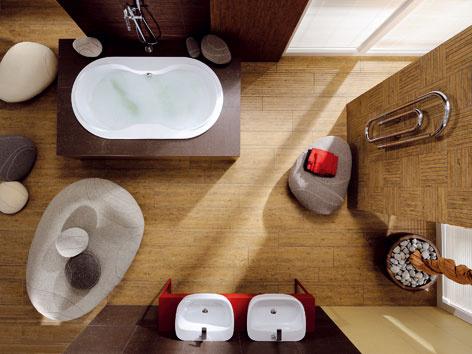 Vhodné je skĺbiť spoluprácu kúpeľňového štúdia alebo architekta so stavebníkom celého bytového domu s časovým predstihom. (foto: RAKO)