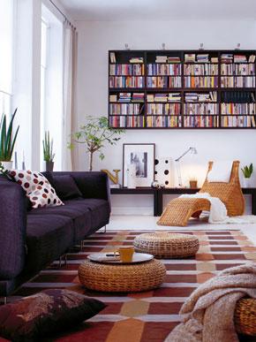 Ležadlo Karlskrona z ručne pleteného rotangu. Dizajn Karl Malmvall. Predáva IKEA.