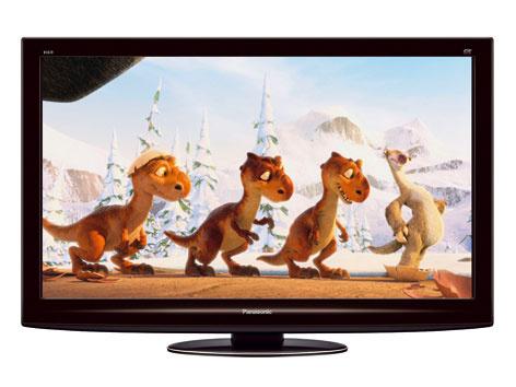 Plazmový televízor Panasonic VIERA TX-P42VT20 suhlopriečkou 106 cm atechnológiou panelu NeoPDP.