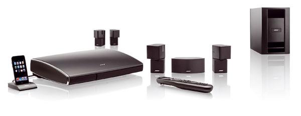 Nový digitálny systém domáceho kina Bose® Lifestyle® V35 je vybavený užívateľsky zjednodušeným nastavením apoužívaním pomocou inteligentného integračného systému Bose® Unify®.