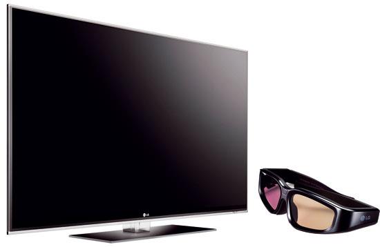 LCD televízor LG 47LX9500 3D, Full LED Slim, 400Hz, odporúčaná vzdialenosť 2,2 m