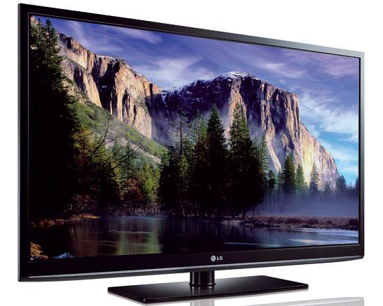 Plazmový televízor LG 42PJ350. Odporúčaná vzdialenosť 2 m