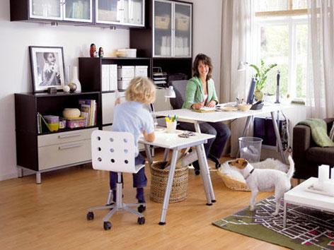 Ako si zariadiť pracovňu doma
