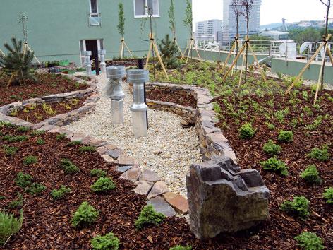 Charakteristika jednotlivých vrstiev strešnej záhrady