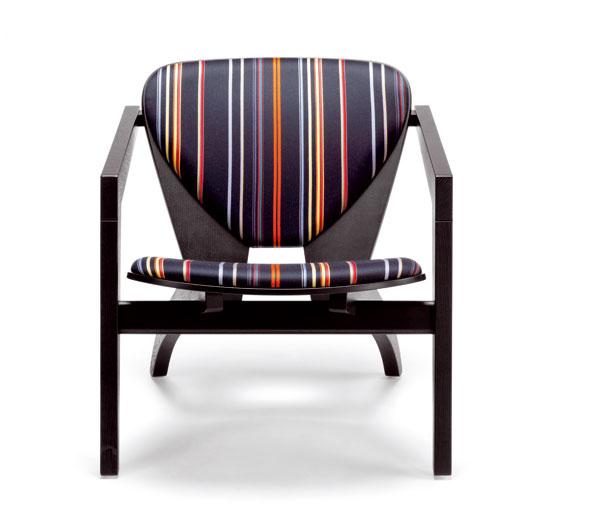 Stoličku-kresielko 460 Stripes vyrába firma Getama.