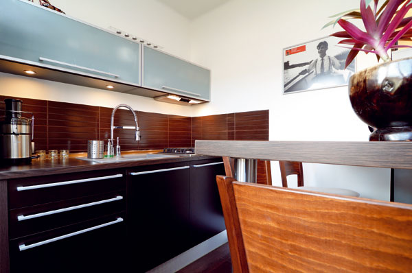 Kuchyňa ako príklad podareného mixu provensálskeho techna