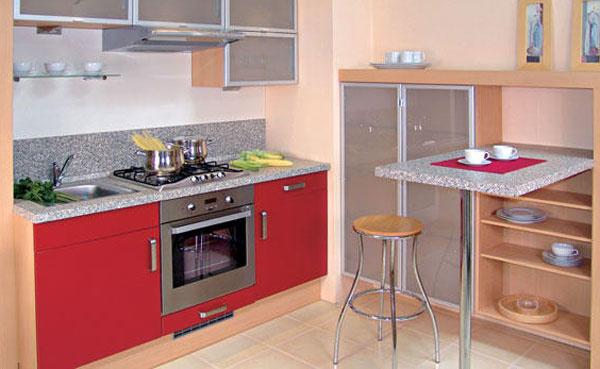 Barový pult možno vyrobiť z rozmanitých materiálov – napríklad z fóliovaných alebo dyhovaných dosák podobne ako stôl či kuchynskú pracovnú dosku. Materiál treba vyberať podľa toho, na čo sa bude bar používať – či len na stolovanie, alebo aj ako pracovná plocha. Tvar aj materiál by mali zároveň harmonizovať s ostatným zariadením miestnosti (pri otvorenom obytnom priestore nielen s jeho kuchynskou, ale aj obývacou časťou).