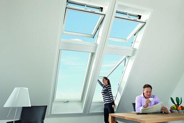 Designo R8 a R6_Světlo pod střechou Zdroj: Roto stavební elementy s.r.o. – organizačná zložka podniku zahraničnej osoby