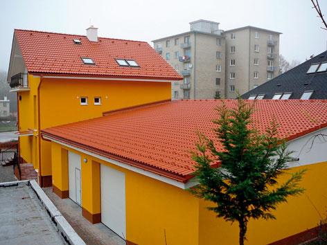 Iba trochu šikmá strecha