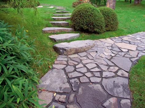 Pevné stopy záhradou