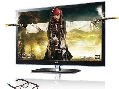 3D film Piráti Karibiku: V neznámych vodách na LG CINEMA™ 3D TV v predajniach elektro