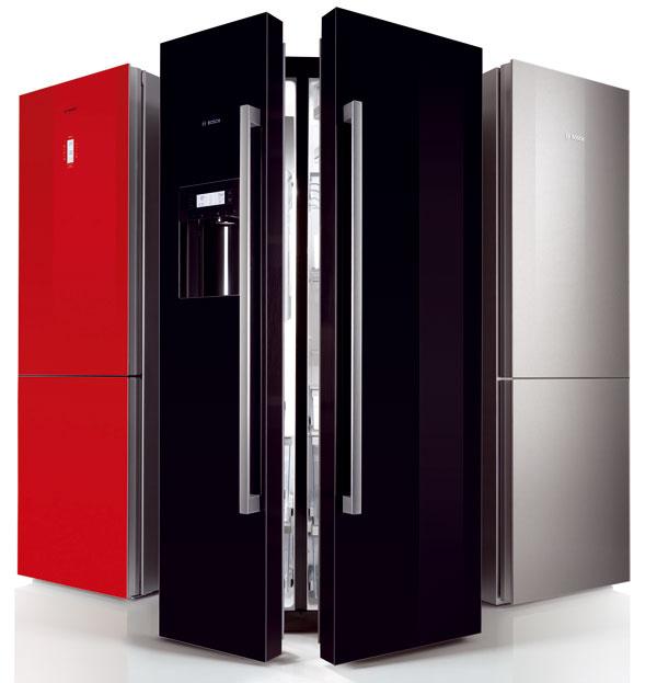 Kombinácie chladnička/mraznička Bosch KGN 36S51 NoFrost ColorGlass Edition.