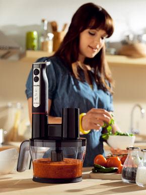 Ponorný mixér spríslušenstvom robota Philips HR1377, 119,99 €
