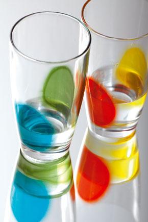 Poháre Circoli Colore od firmy KareDesign.