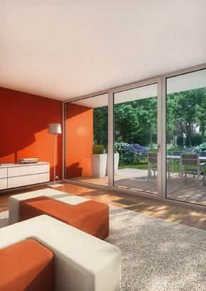 Okenný profil pre architektúru bez hraníc