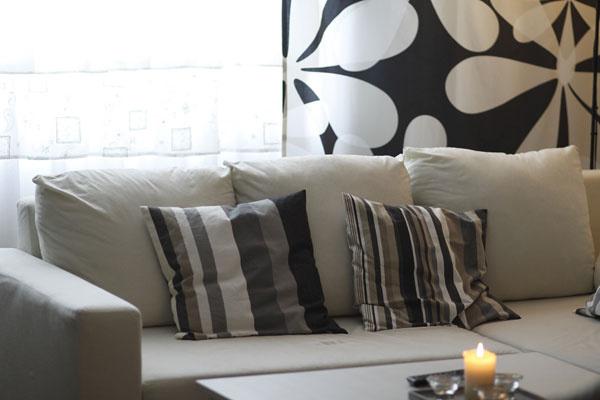 Béžová obývacia izba