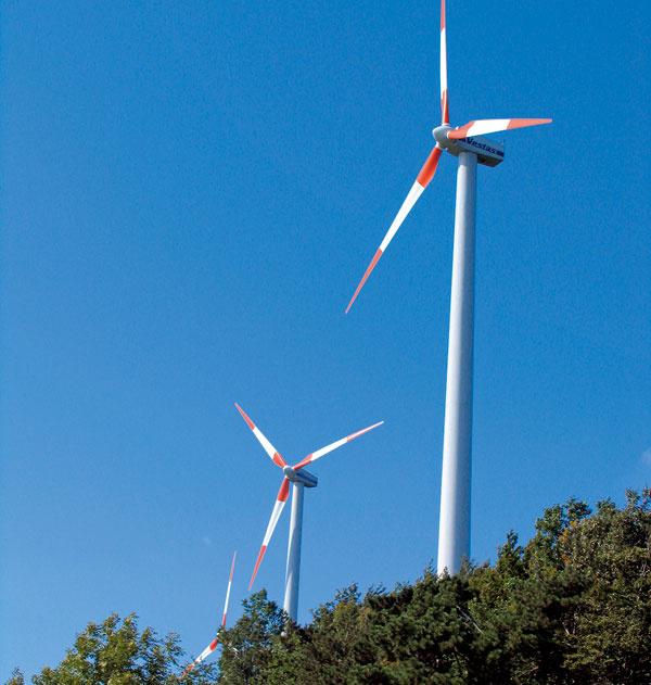 Veterný park Cerová pomôže svojou čistou výrobou elektrickej energie ročne znížiť produkciu CO2 až o3270 ton. Projekt vznikol vspolupráci so Slovenskými elektrárňami, Obecným úradom Cerová aspoločnosťou Green Energy Slovakia. Financie na výstavbu boli poskytnuté vrámci cezhraničnej spolupráce medzi Slovenskom aRakúskom zfondu PHARE azo štátneho rozpočtu SR.