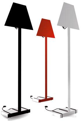 Ešte raz tri farebné variácie na dve dimenzie pre jednu lampu od Valentiny Dago.