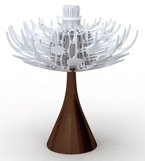 Stolné lampy pomáhajú vytvárať atmosféru na stoloch, komodách, skrinkách či nočných stolíkoch. Kreslia mäkké tiene, zaplavujú miestnosti teplým svetlom. Ich tvorcovia sa pohrávajú nielen stvarmi tienidiel aich podnoží, ale aj spôsobom, ako svietidlá napojiť energiou: