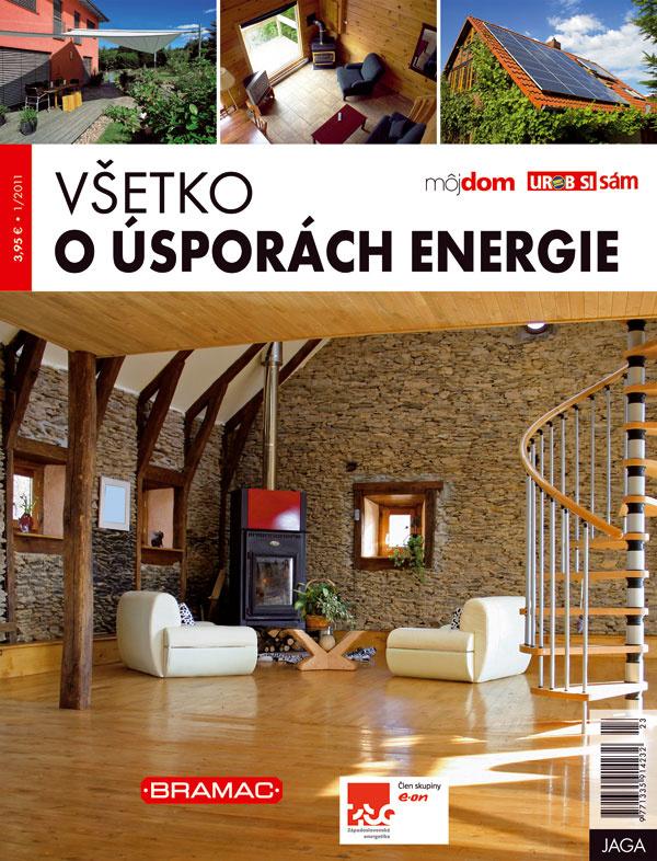 Nová kniha VŠETKO O ÚSPORÁCH ENERGIE v predaji