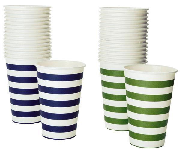Papierové poháre MIDSOMMAR, 1,49 €/18 ks