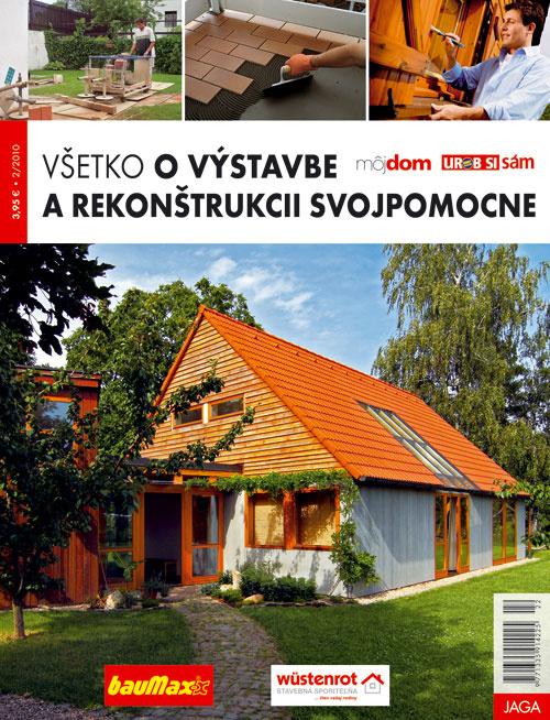 3. cena Publikácia Všetko o stavbe a rekonštrukcii svojpomocne z vydavateľstva JAGA (5x)