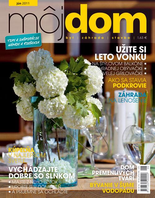 2. cena  Predplatné časopisu Môj dom z vydavateľstva JAGA (5x)