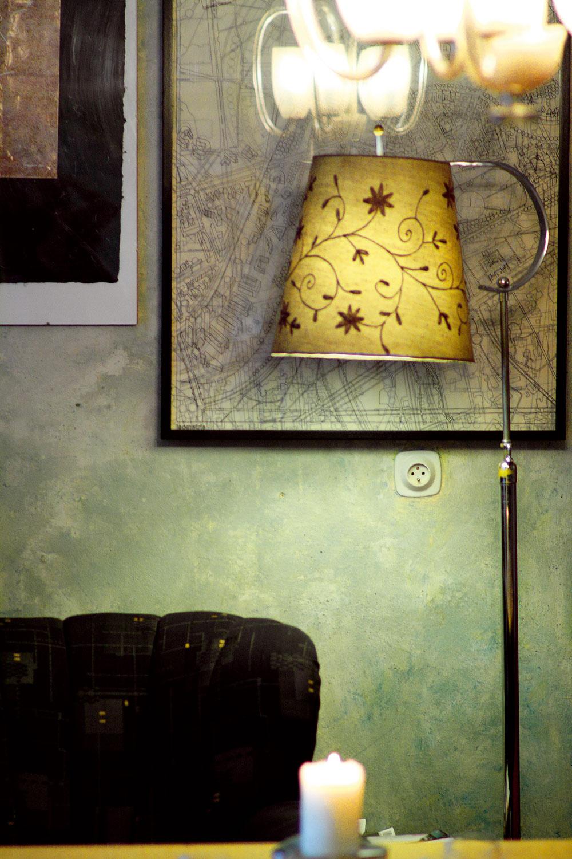 Čarovanie svetlom, farbami, starožitnými alebo inak zaujímavými doplnkami