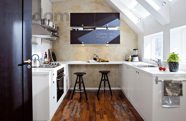 Ako zväčšiť malú kuchyňu