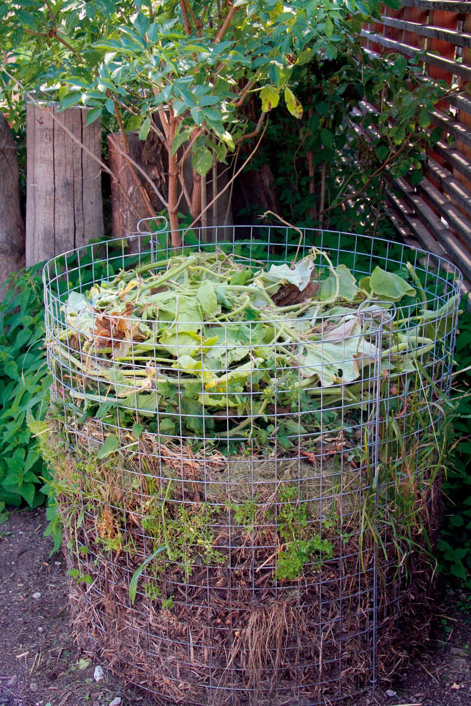 Záhradný odpad by mal skončiť vkomposte