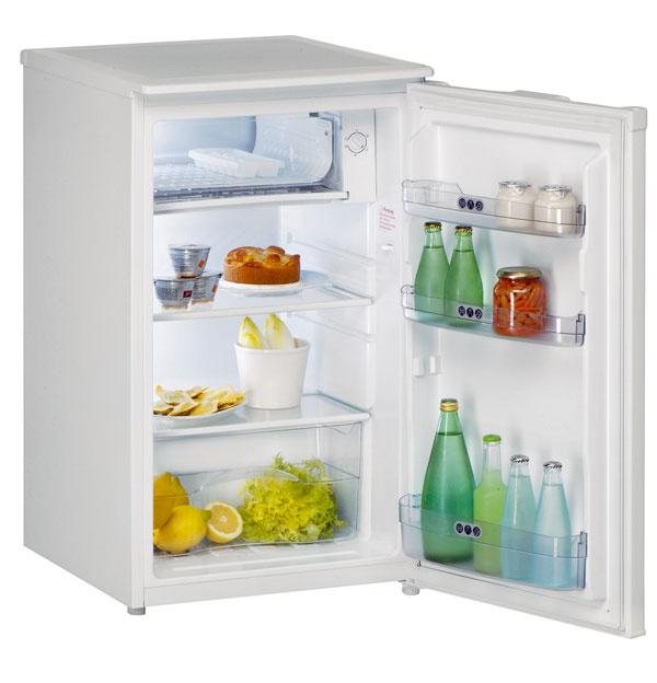 Jednodverová chladnička Whirlpool ARC 903 AP s výparníkom má objem 118 litrov a je široká 50 cm. Má sklenené poličky. Odporúčaná cena je 219 €.