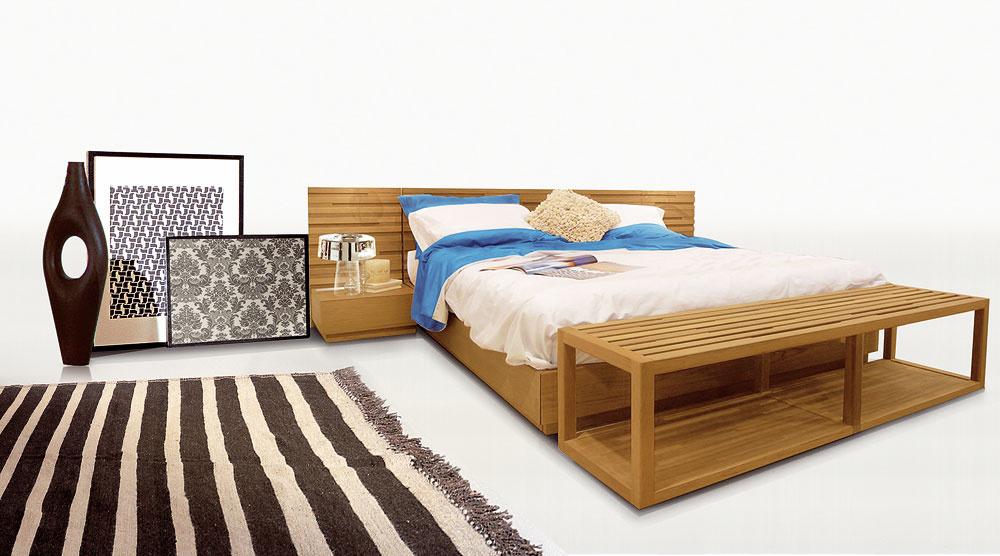 Nábytok a doplnky svôňou dreva