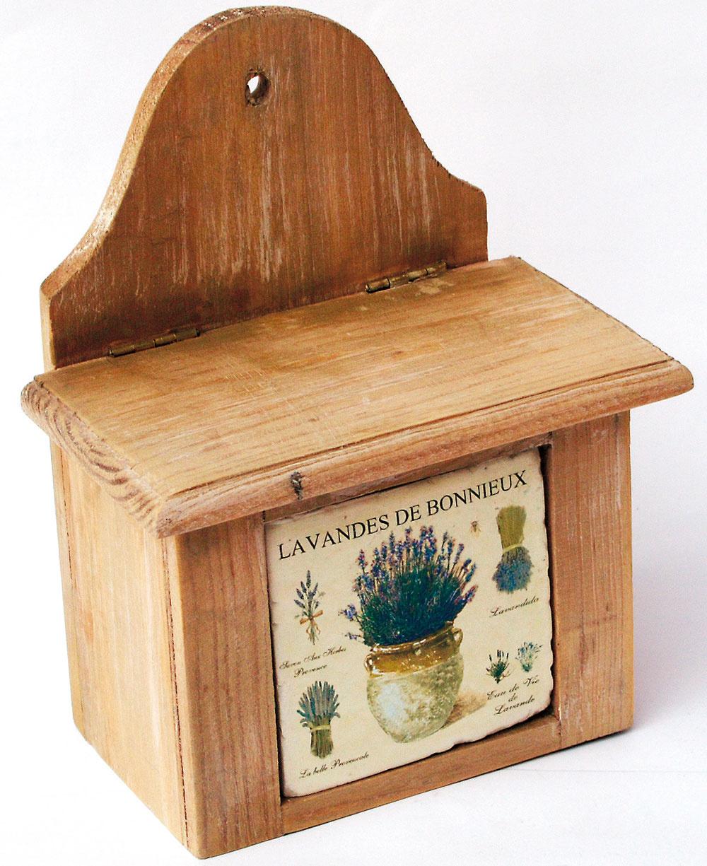 Dóza na sušené bylinky Lavandes de Bonnieux, 9,99 €
