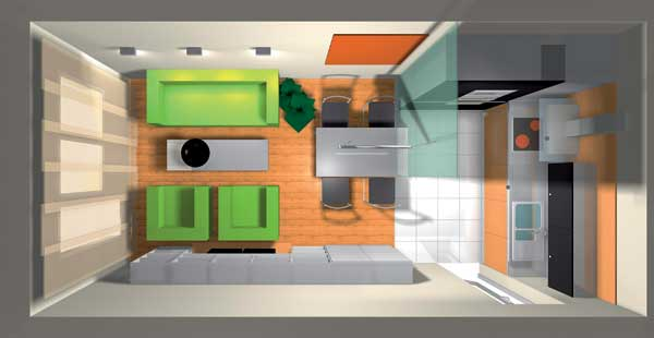 Veľká domácnosť v malom byte