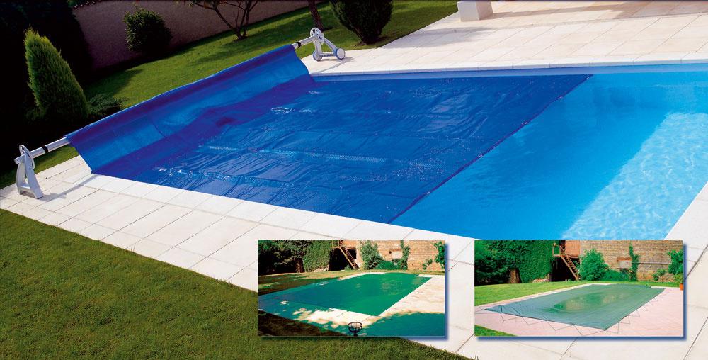 Pri letnej prevádzke je letná plachta snavíjačom základným doplnkom exteriérového bazéna. Uchováva teplo achráni vodu pred napadaním nečistôt.
