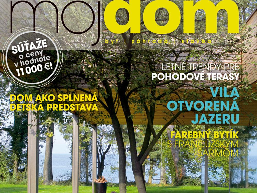Výsledky súťaže testujte s nami z časopisu Môj dom 07/2011