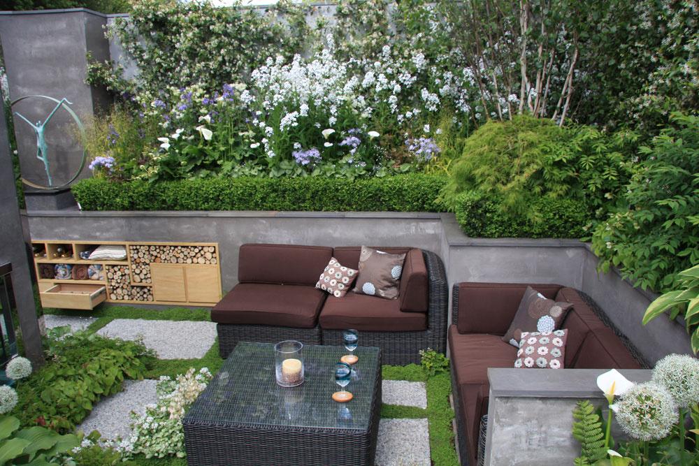 Záhrada ako stvorená na záhradnú párty