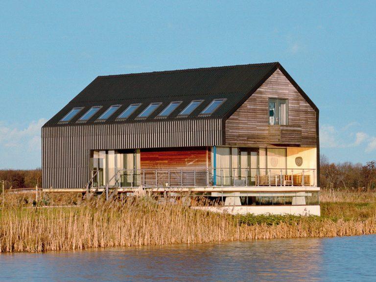 Originálny dom na severe Holandska